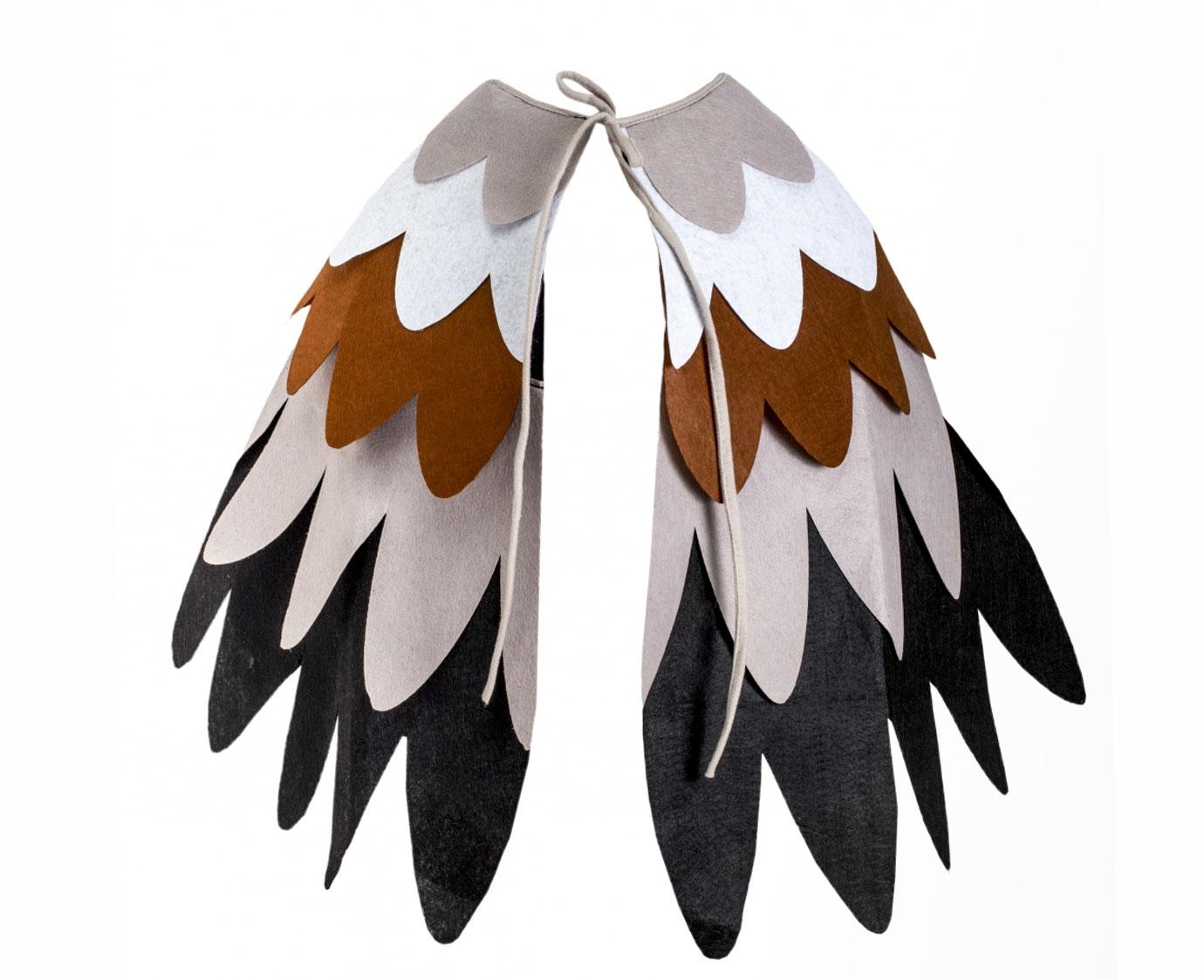 Vleugels 'Vogel vilt' kleur