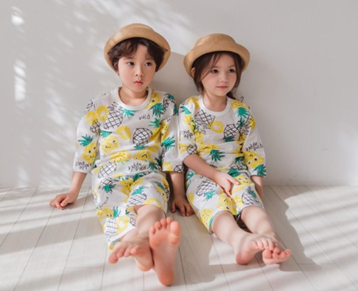 Pyjama 'Pineapple fun'