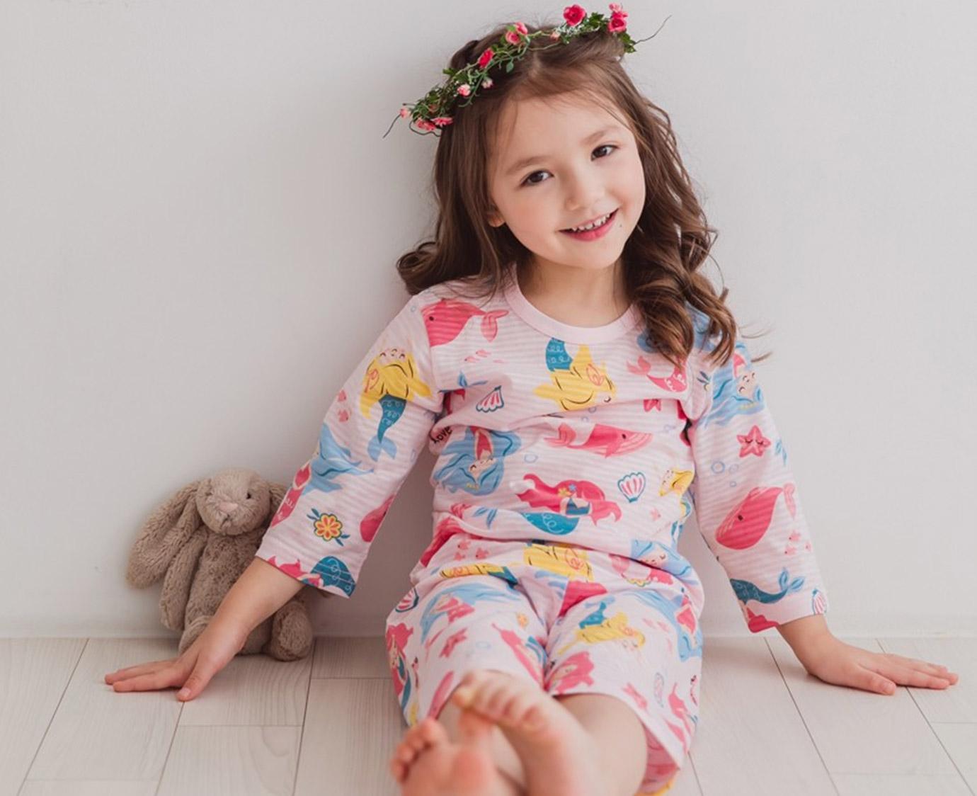 Pyjama 'Mermaid' kleur