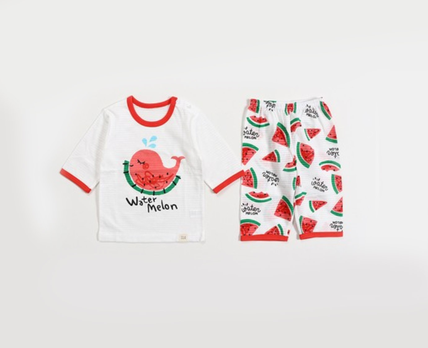 Pyjama ' Whale Melon'