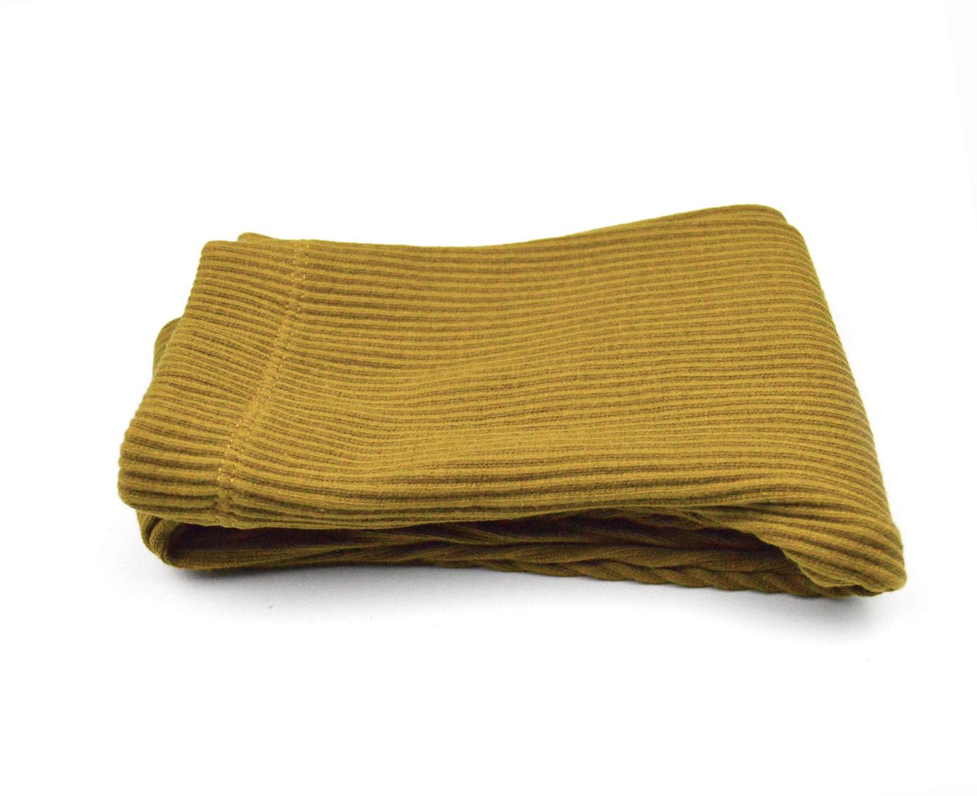 Legging 'Rib mosterd' kleur