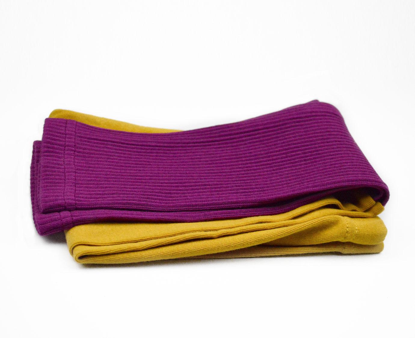 Legging 'Color mosterd'