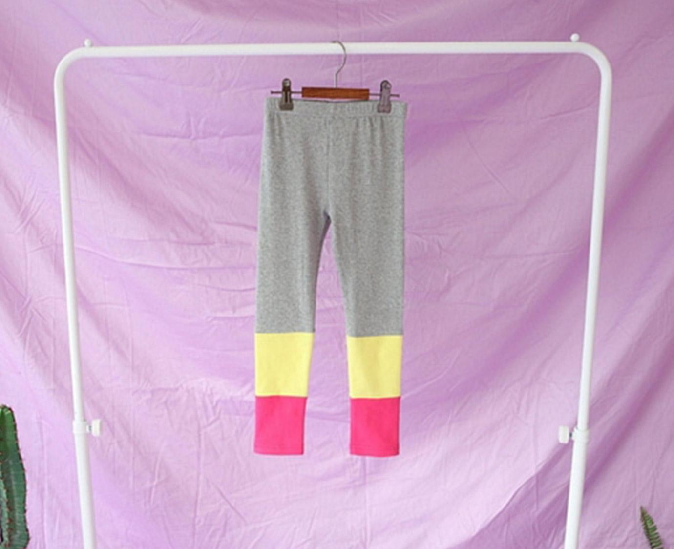 Legging 'Momo' grijs maat 92-98
