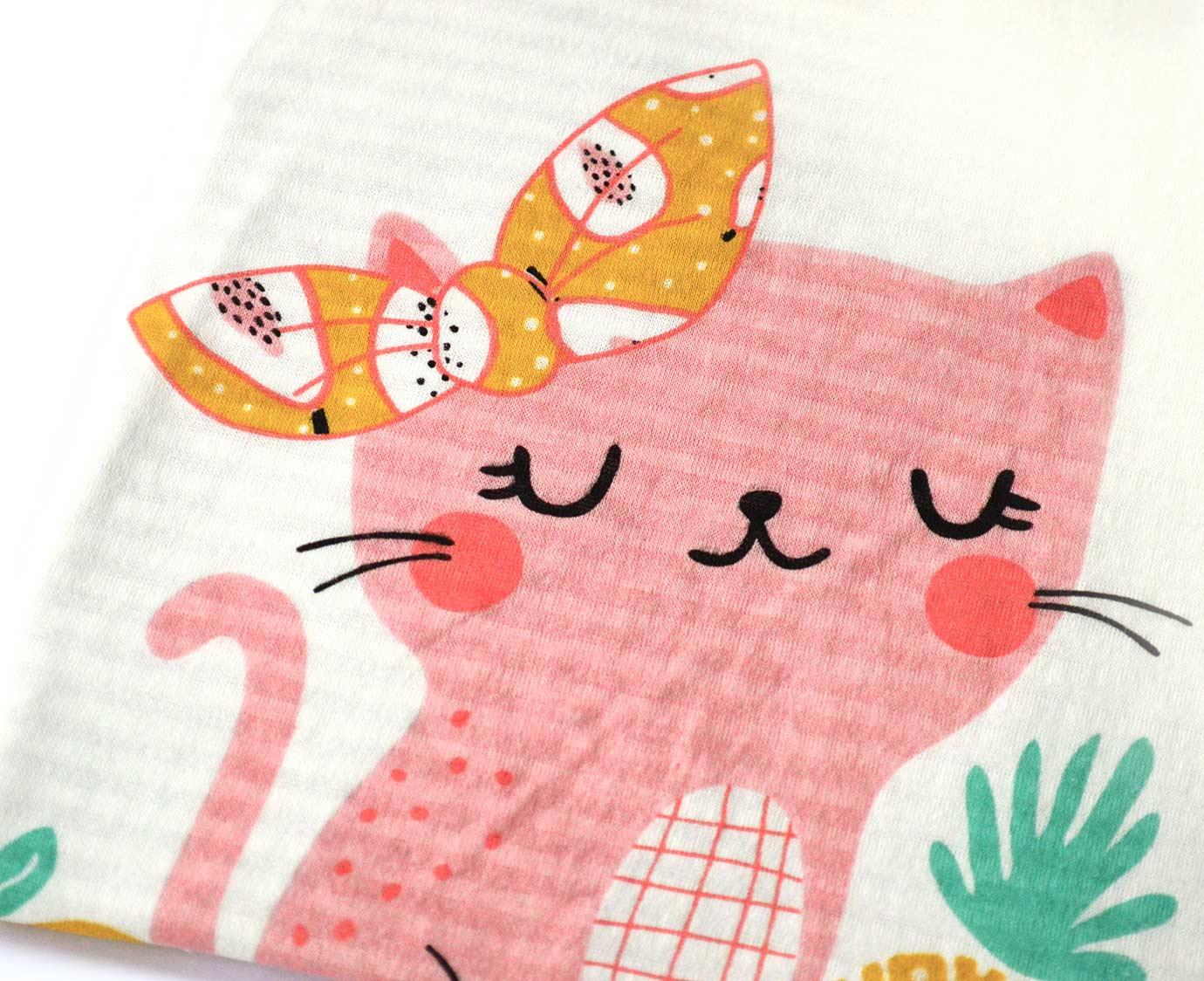 Pyjama 'Fruit cat'