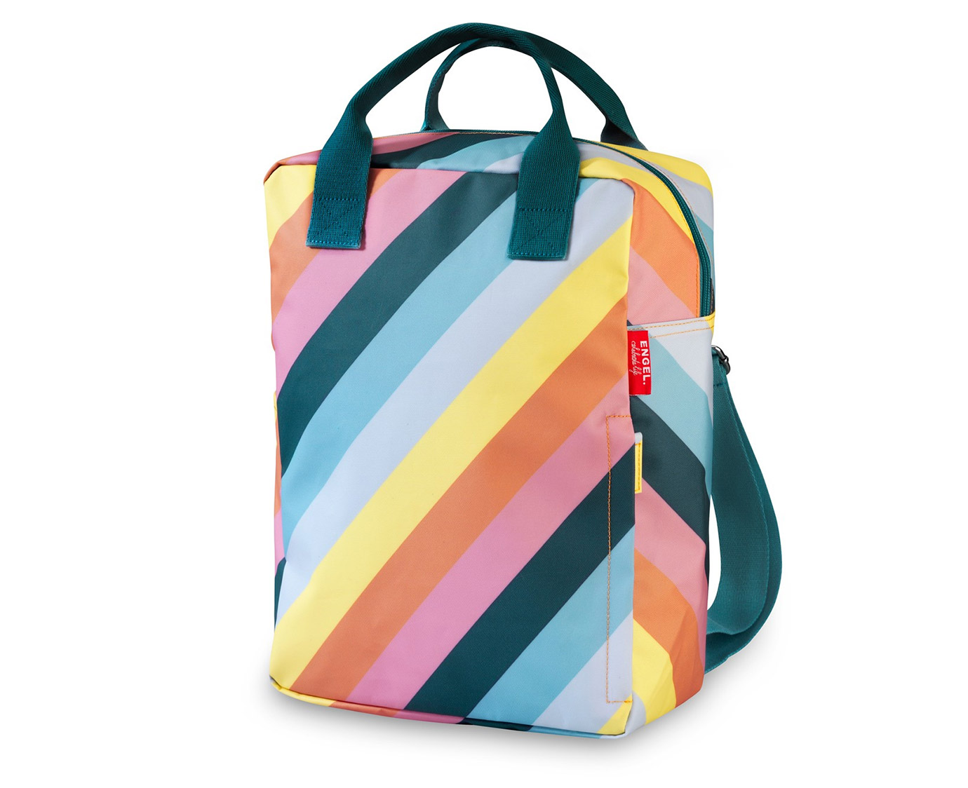 Rugzak Large 'Rainbow' kleur
