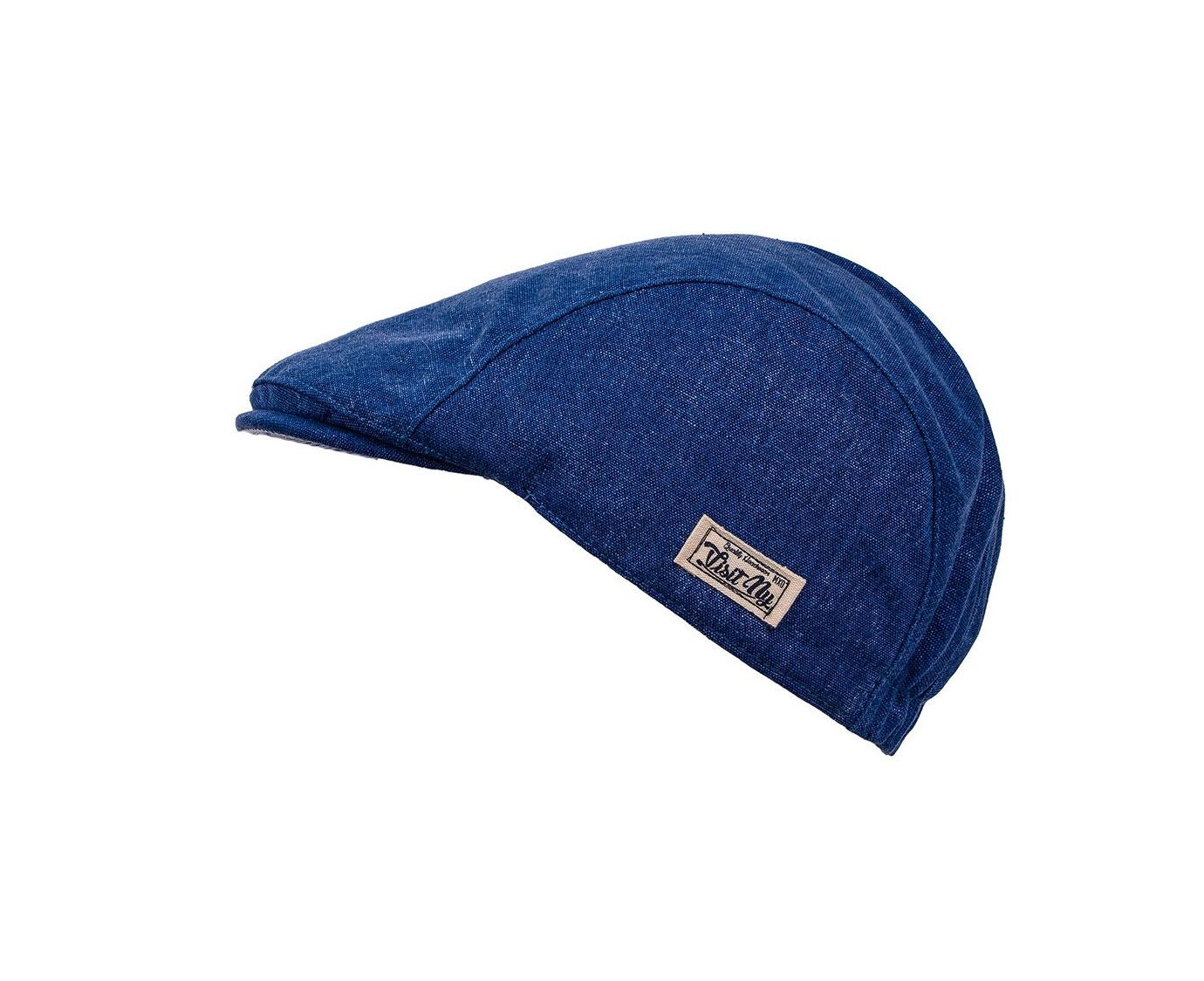 Flat cap  'Blue Denim' kleur