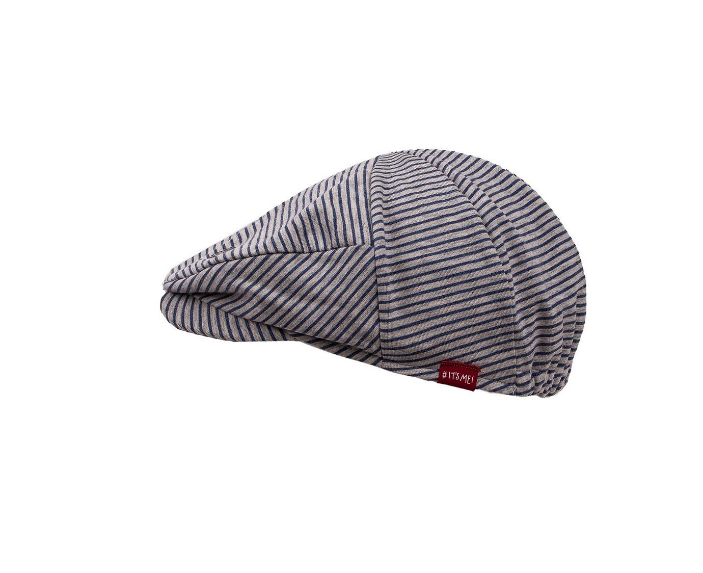 Flat cap 'Stripe' kleur