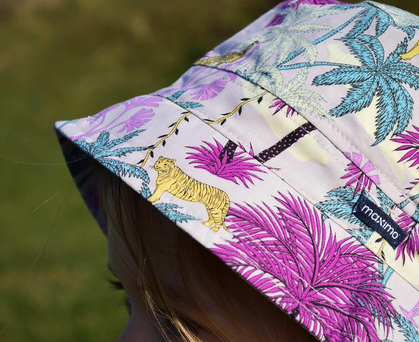 Zonnehoed 'Jungle Magenta' kleur