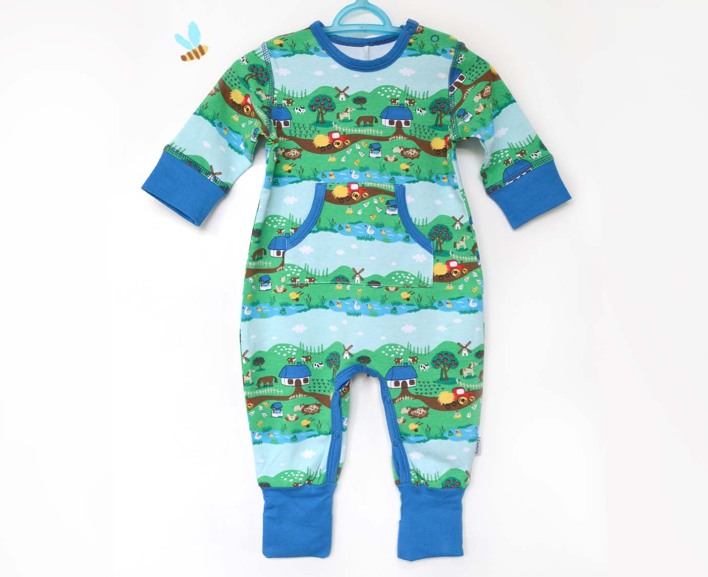 "Jumpsuit  ""Little Farm"""