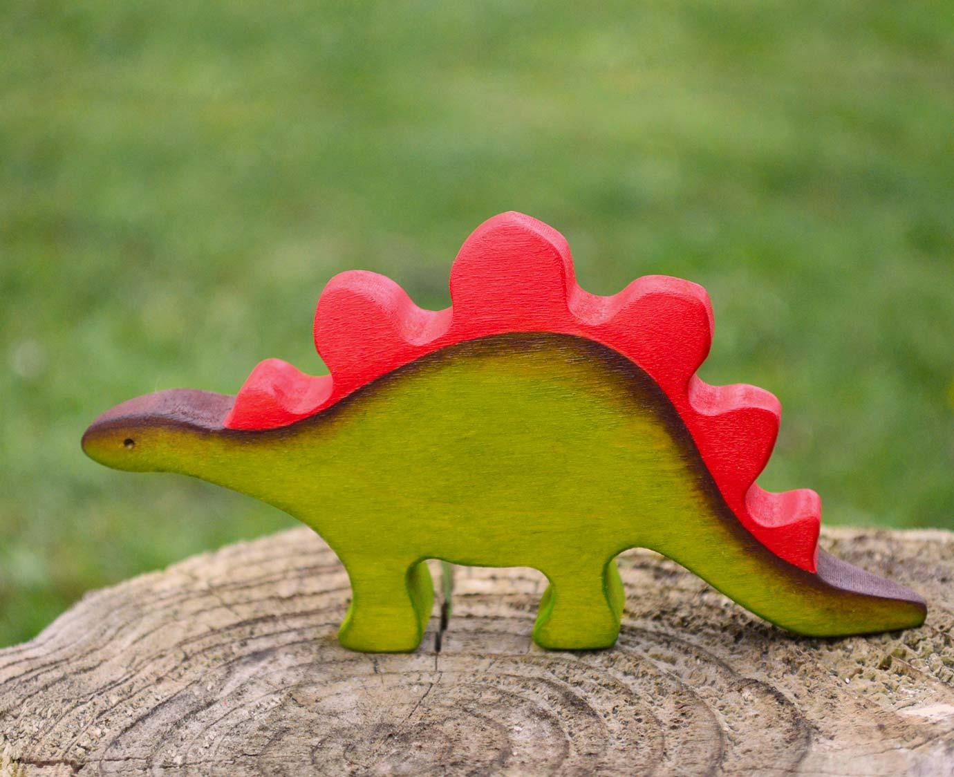 Houten Dino 'Stegosaurus'