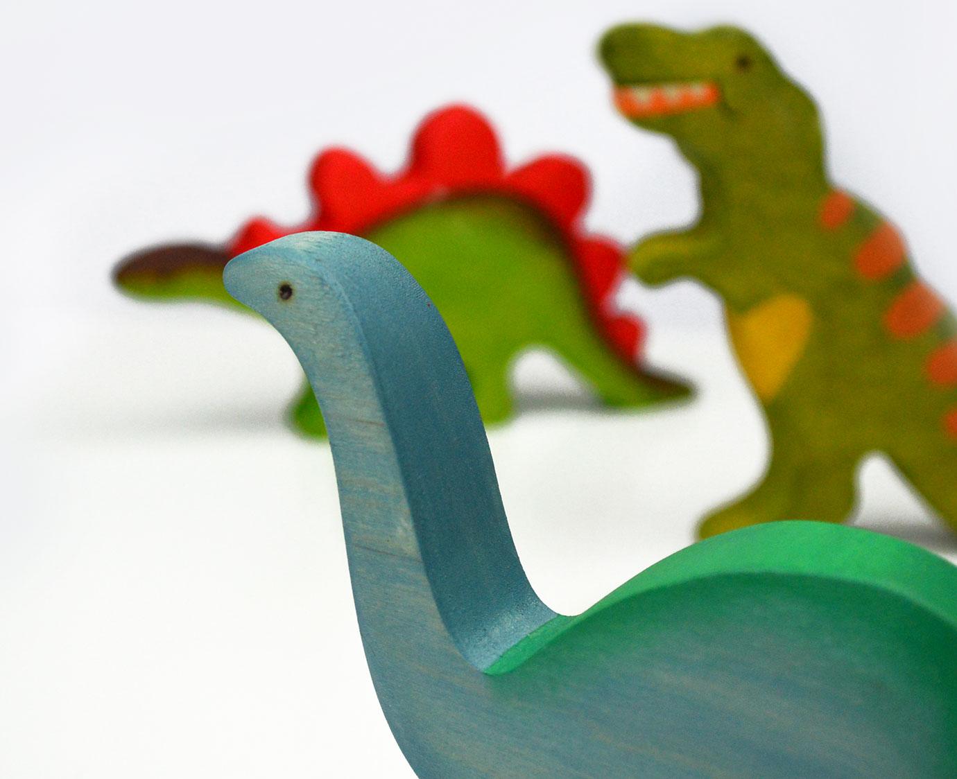 Houten Dino 'Diplodocus'