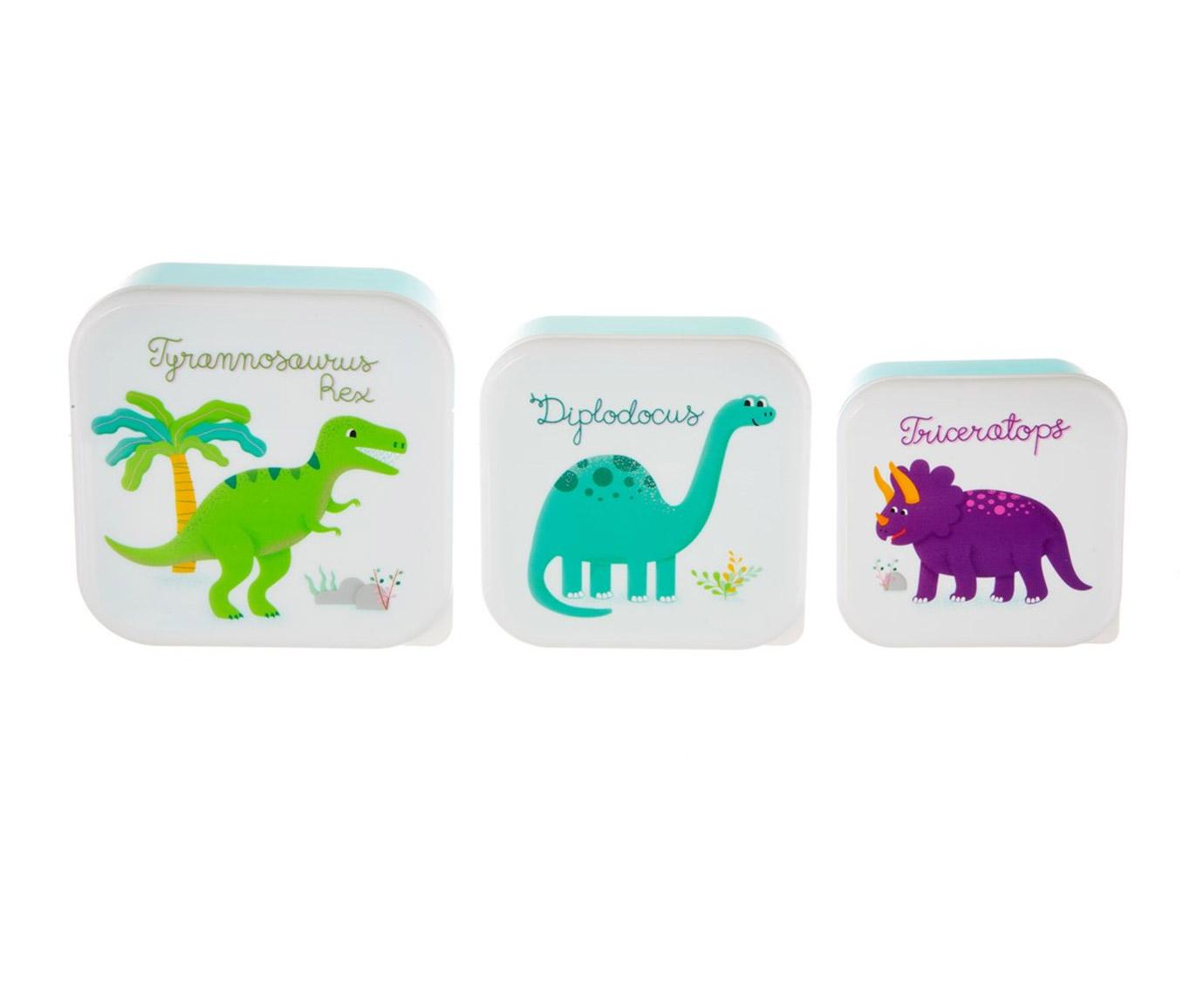 Snackdoosjes 'Dinosaurus'