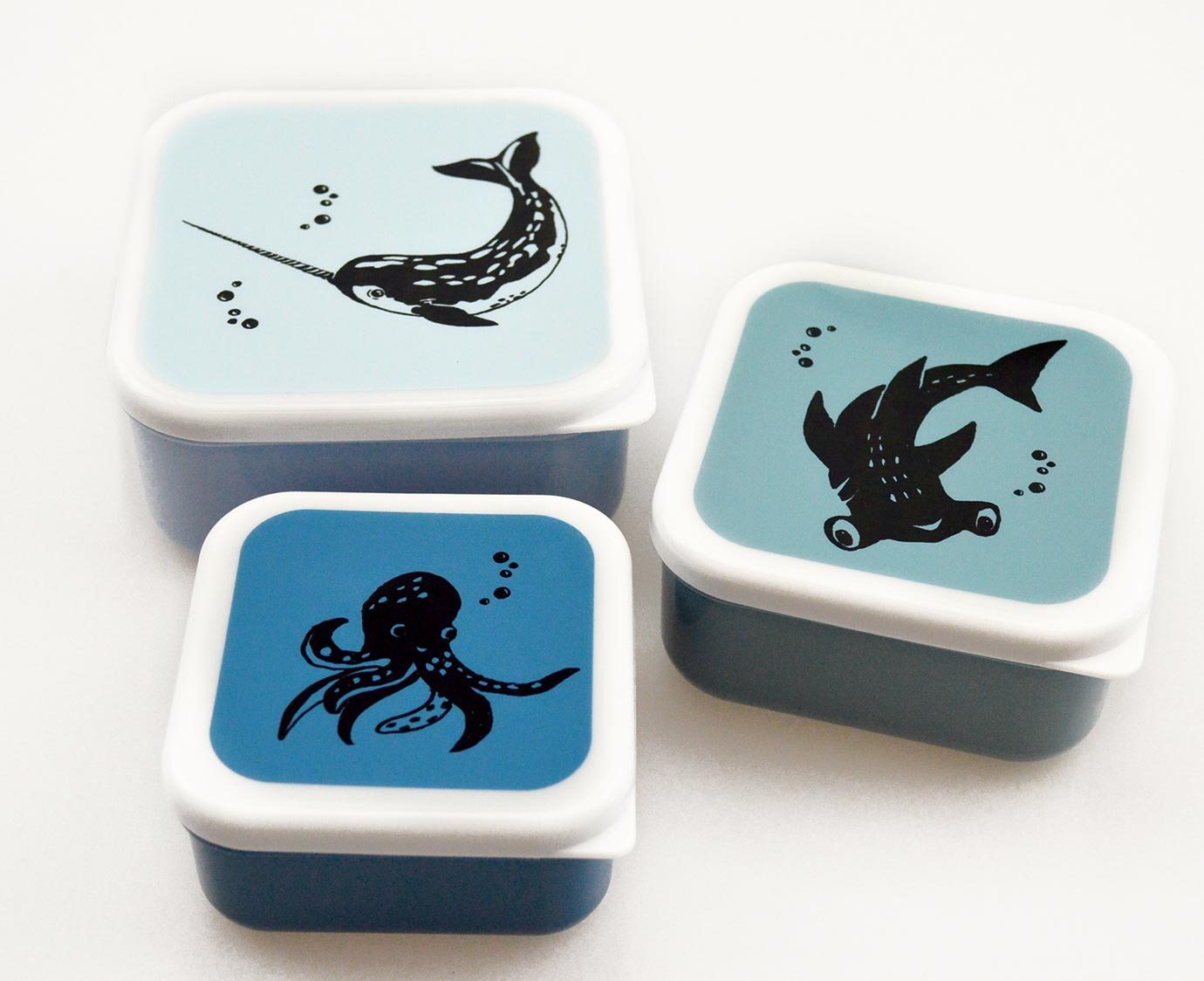 Snackdoosjes 'Sea animals'