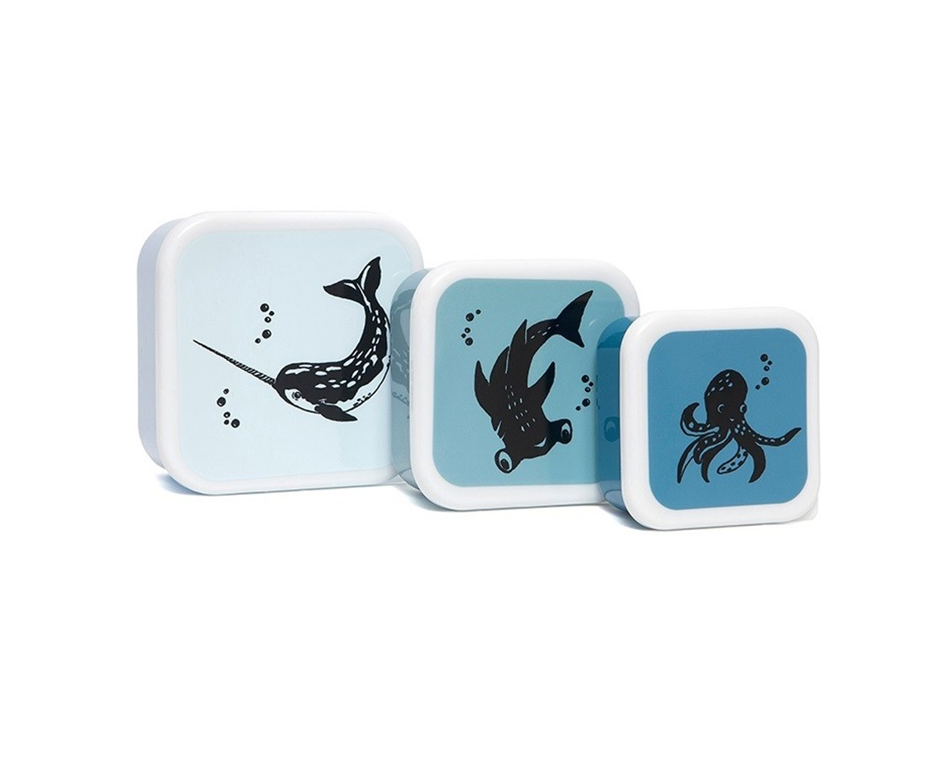 Snackdoosjes 'Sea animals' kleur