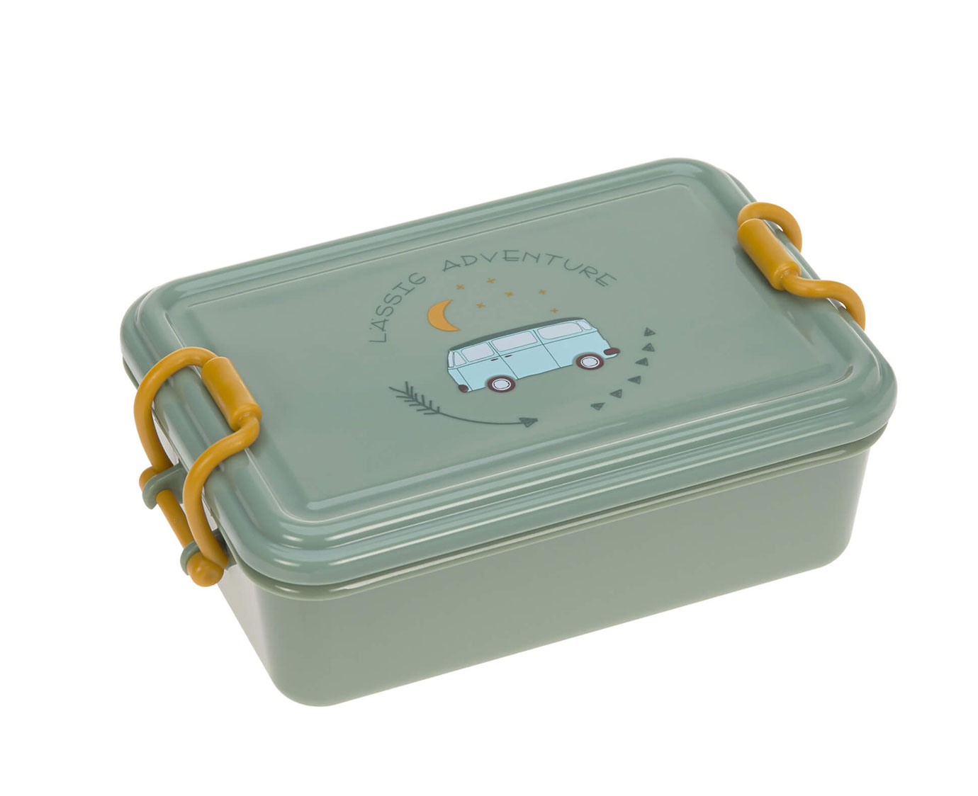 Lunchbox 'Adventure Bus' kleur