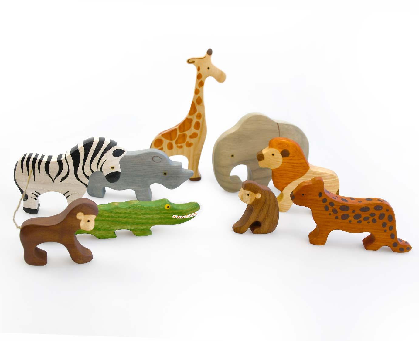 Set 'Afrikaanse dieren'