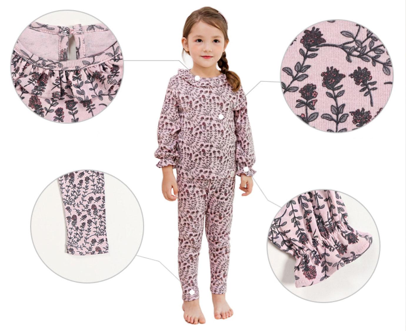 Pyjama 'Organic flower'