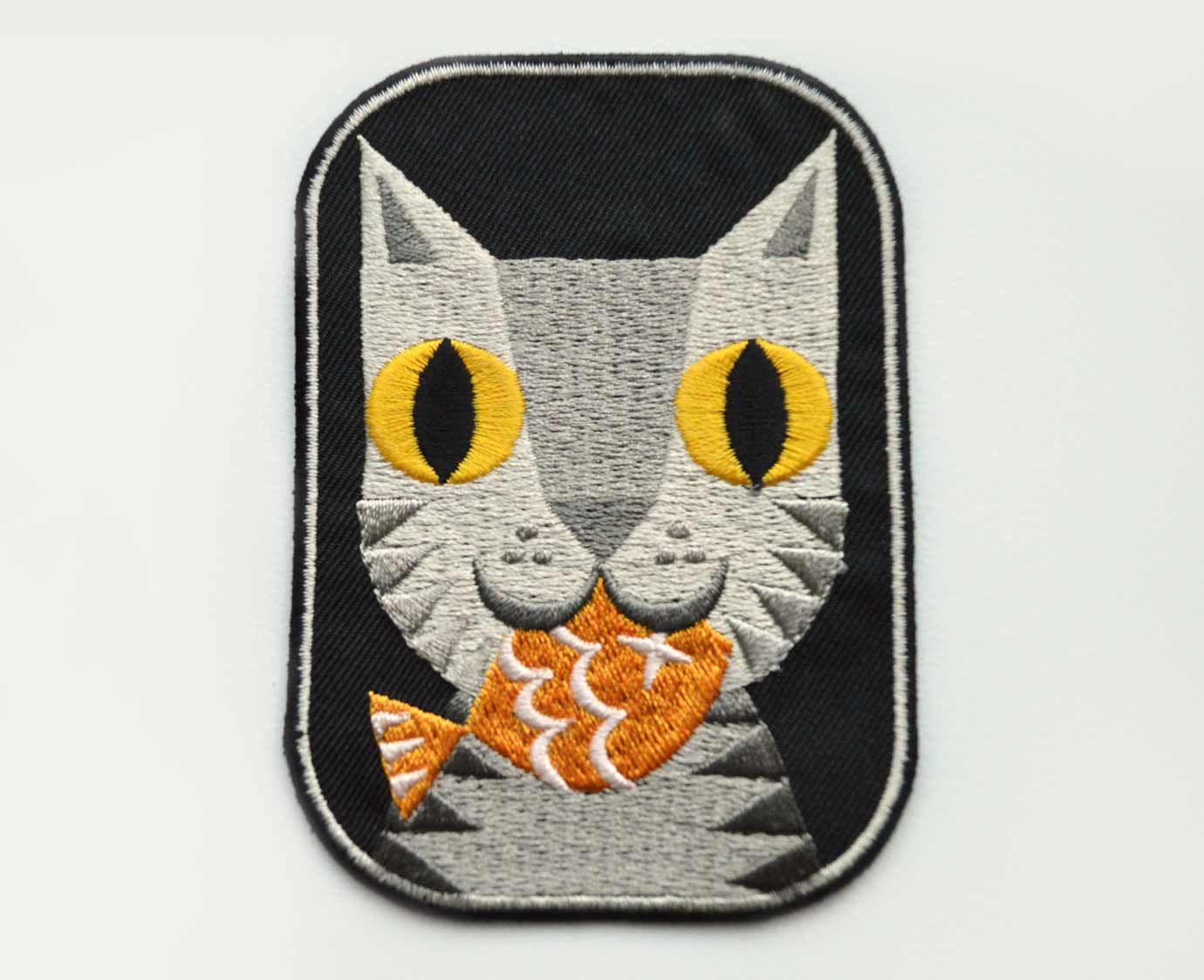 Strijkapplicatie 'Felix cat'