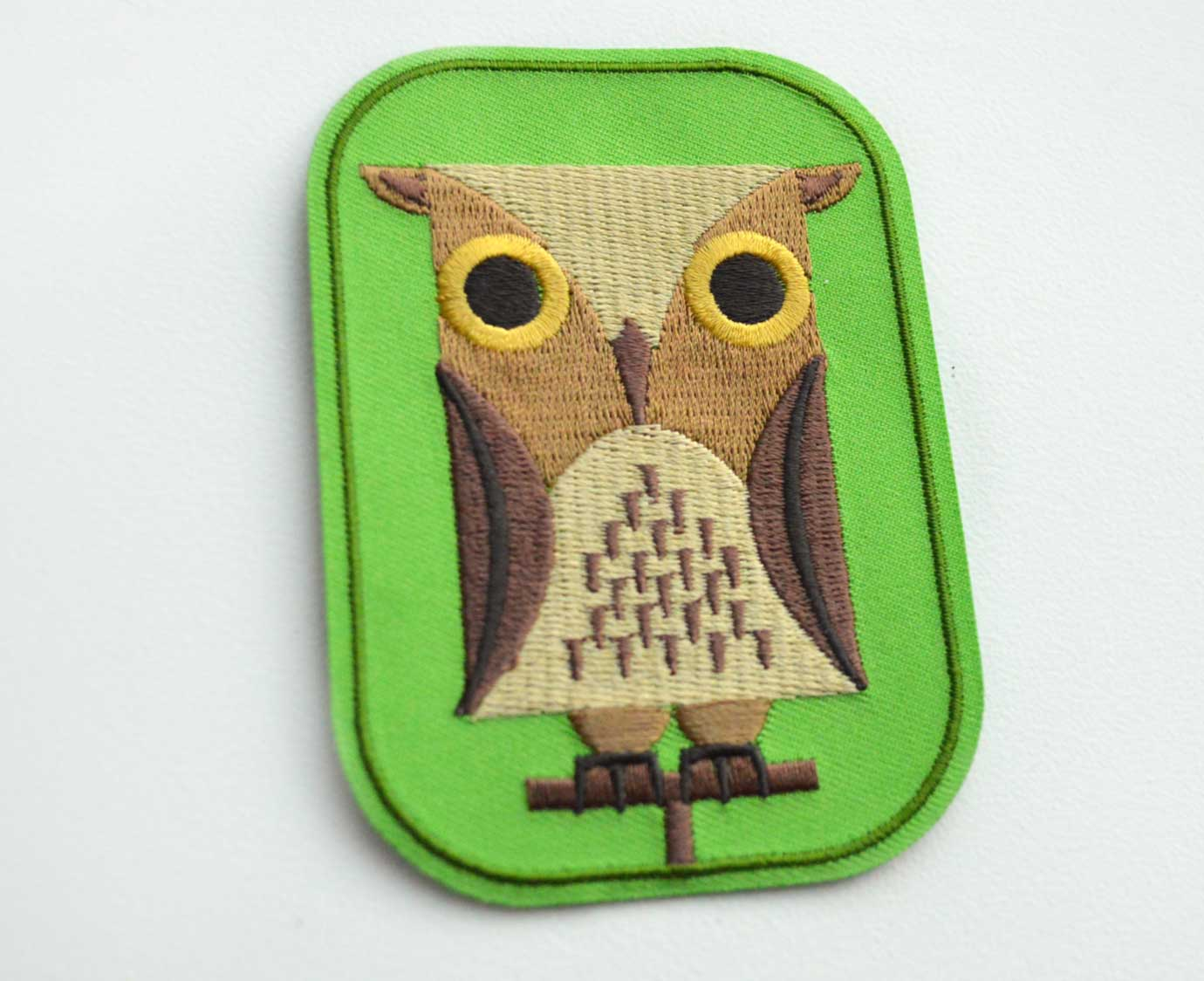 Strijkapplicatie 'Olmo owl'
