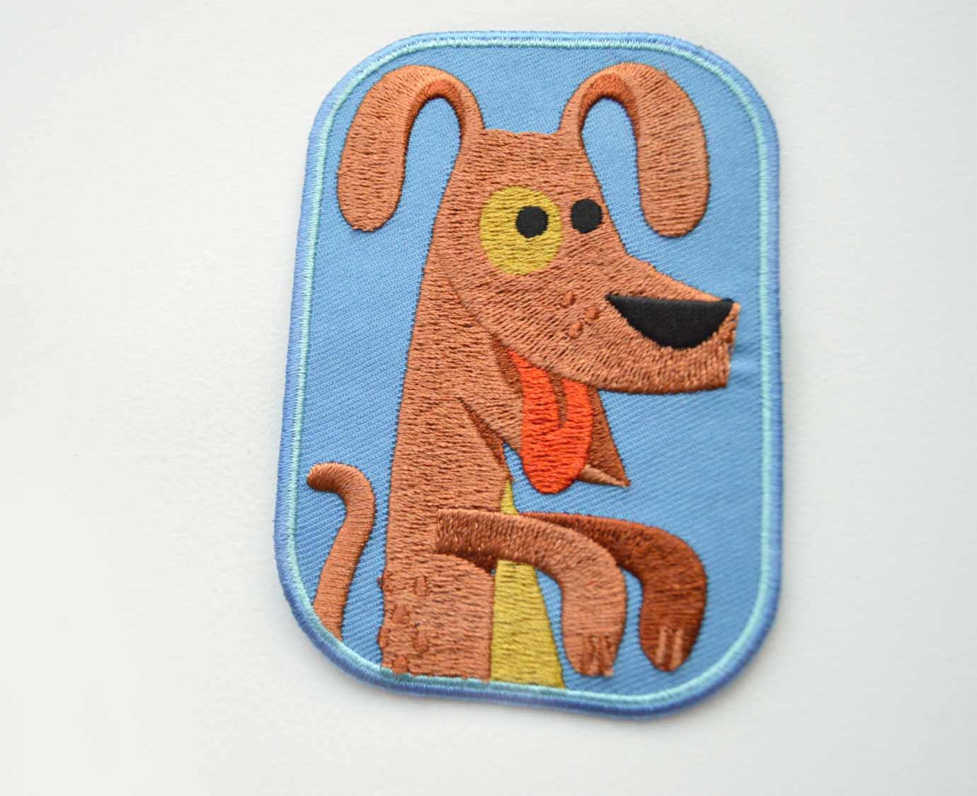 * Strijkapplicatie 'Doug Dog'