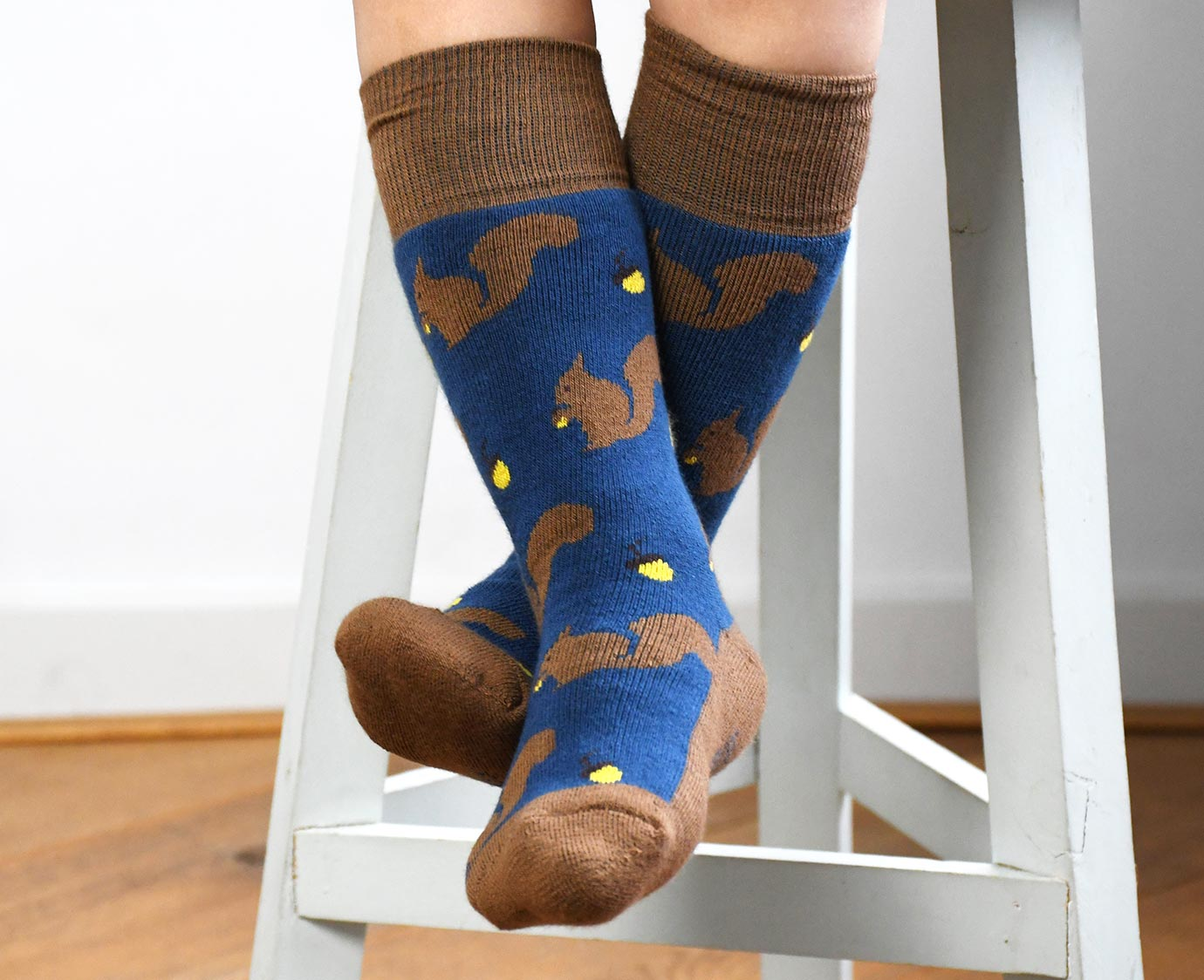 Teddy sokken 'Acorn'