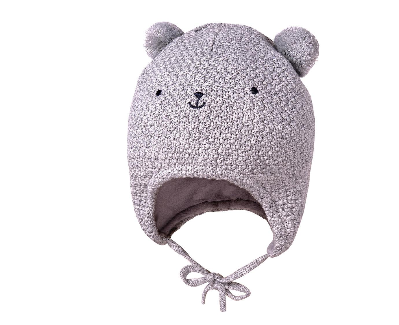 Babymuts 'Pom bear' kleur