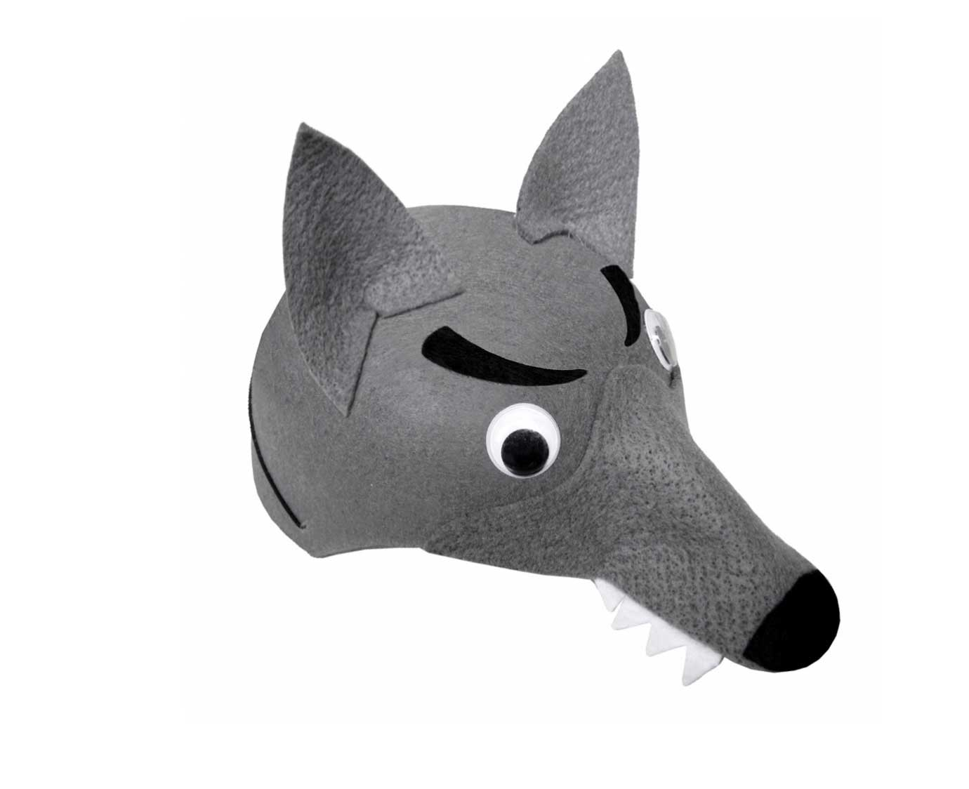 Hoedje 'Wolf' kleur