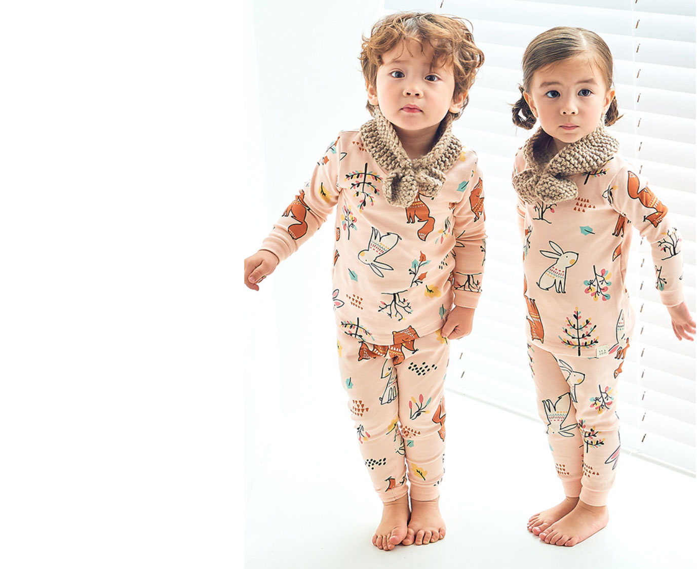 Pyjama 'Fox and Rabbit'