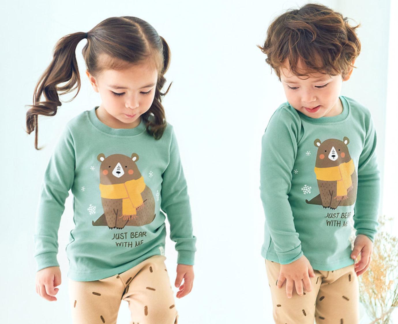 Pyjama 'Muffler bear'