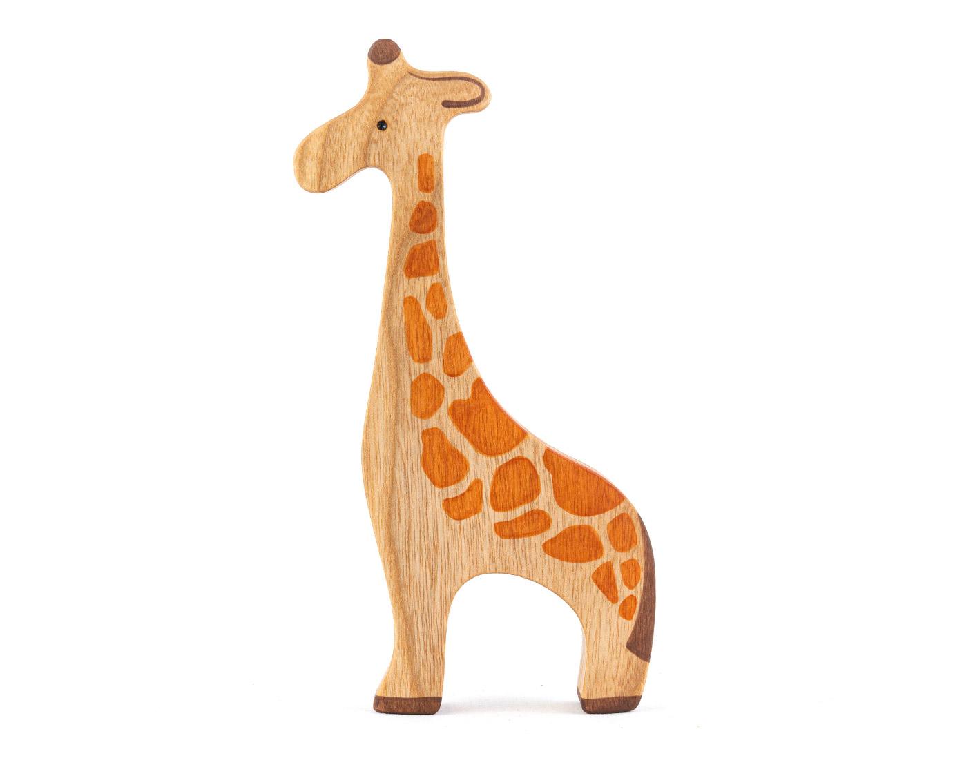 Houten 'Giraffe' kleur