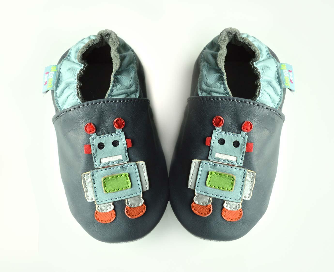 Babyslofjes 'Robot' kleur