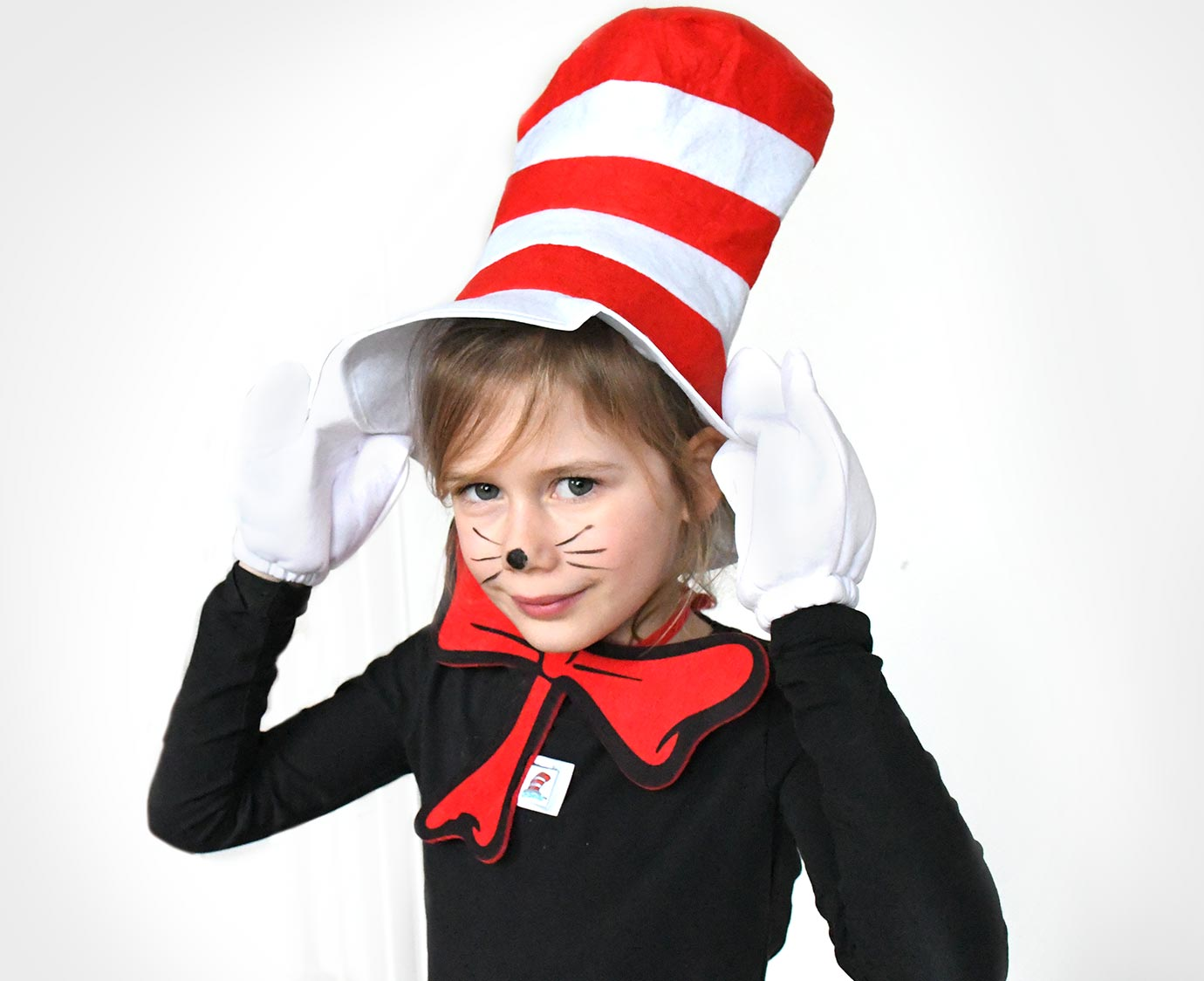 Set 'Cat in the hat' kleur