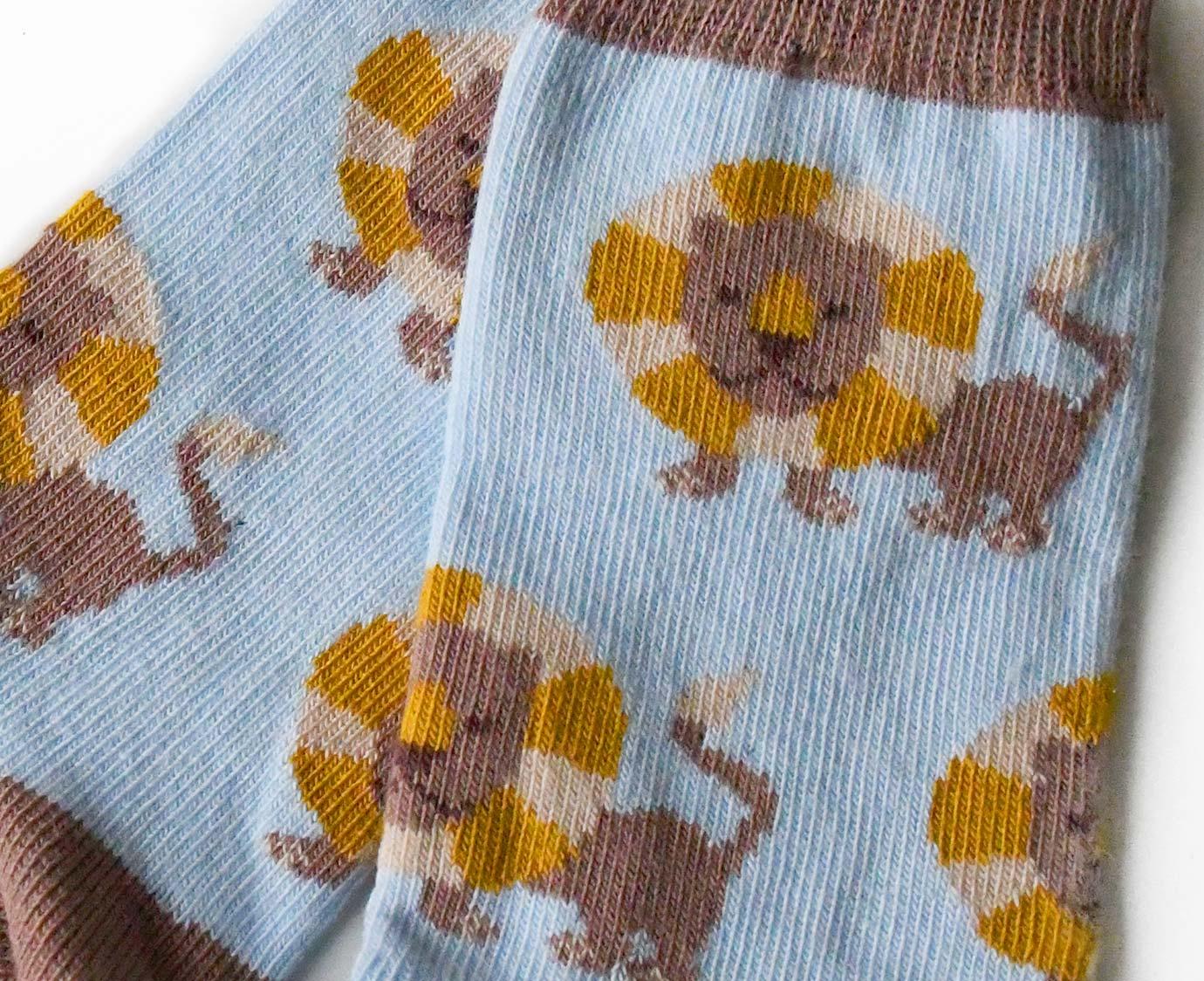 Sokken 'Leeuw bruin'