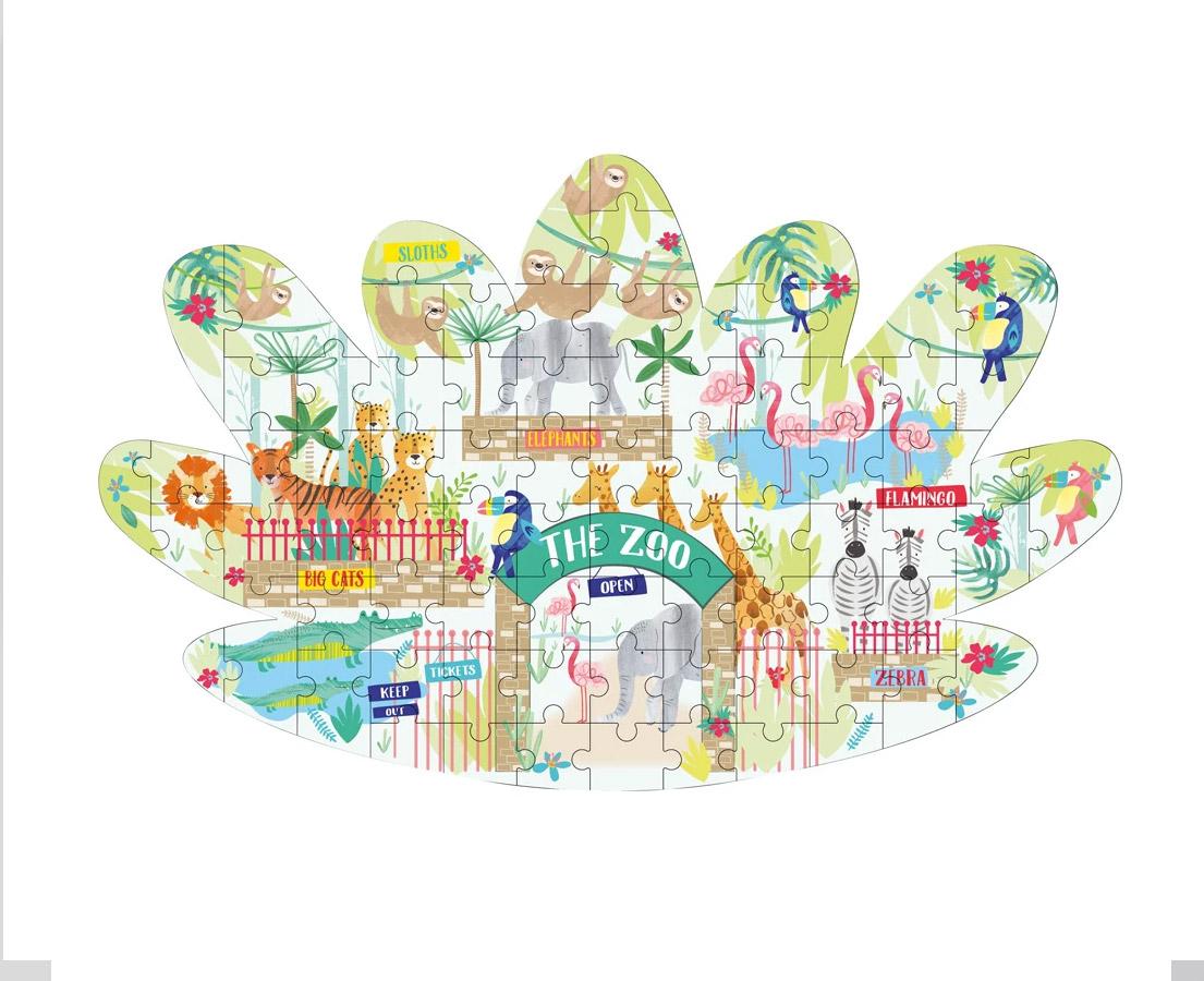 Puzzel 'Jungle Zoo'