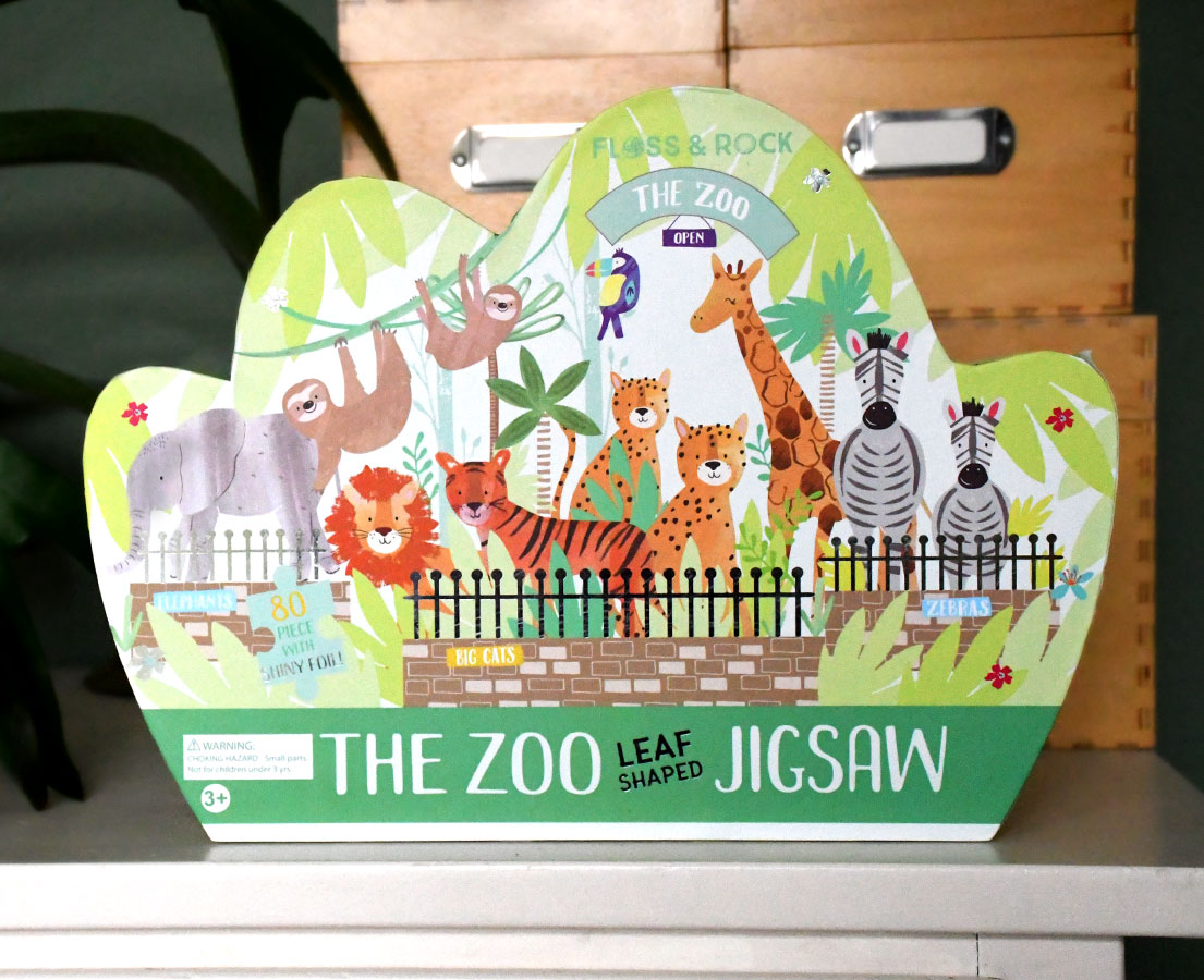 Puzzel 'Jungle Zoo'