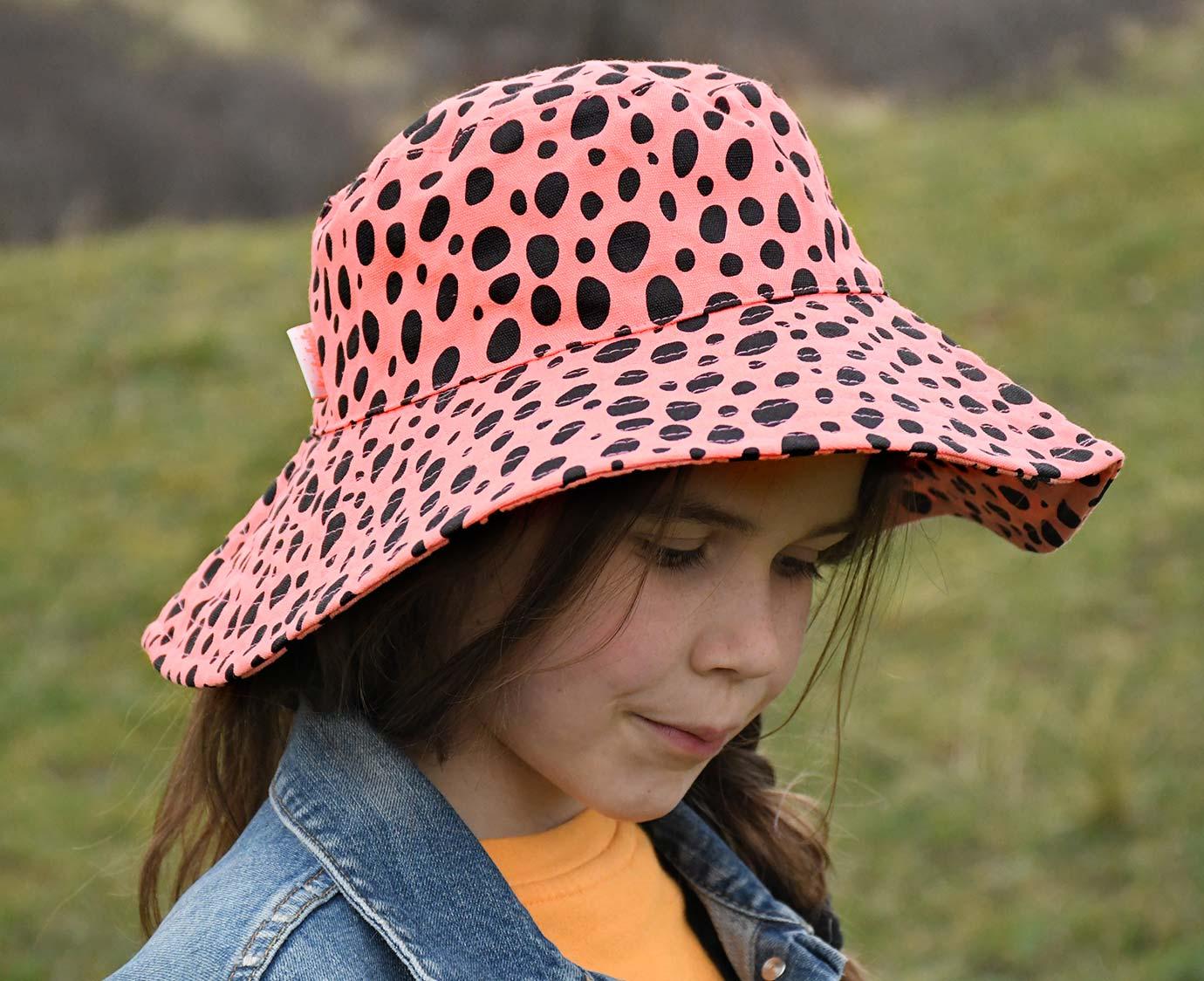Zonnehoedje 'Floppy Cheetah' 7-12 jaar