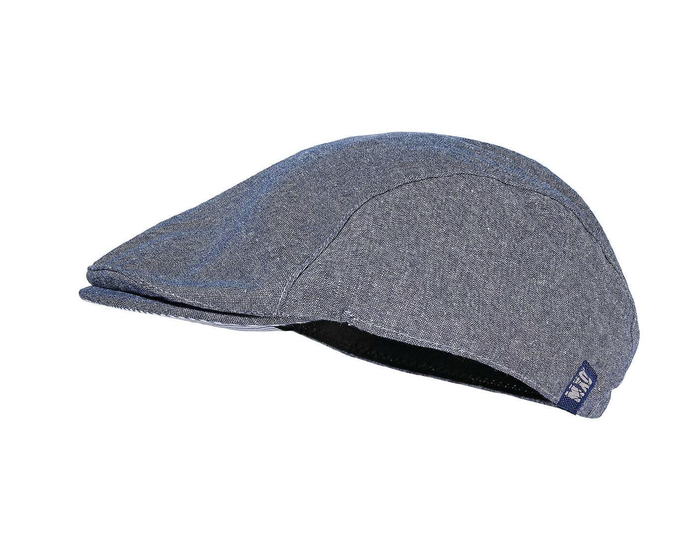 Flat cap 'Light Denim' kleur