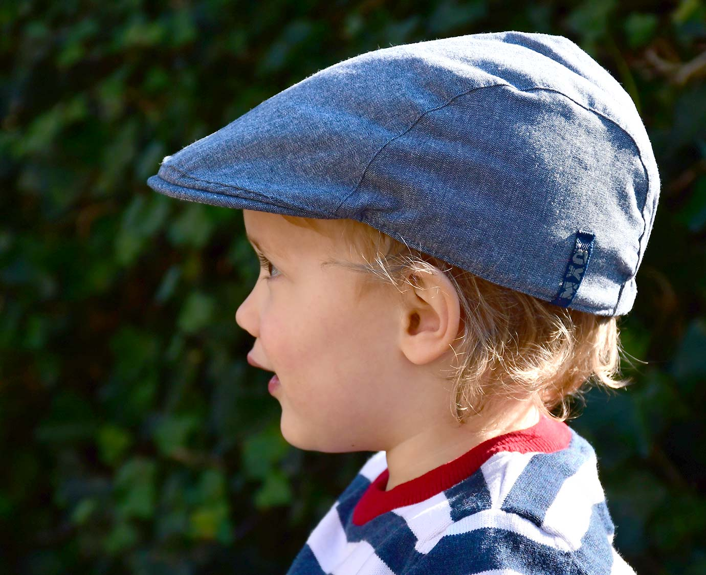 Flat cap 'Light Denim' 7-12 jaar