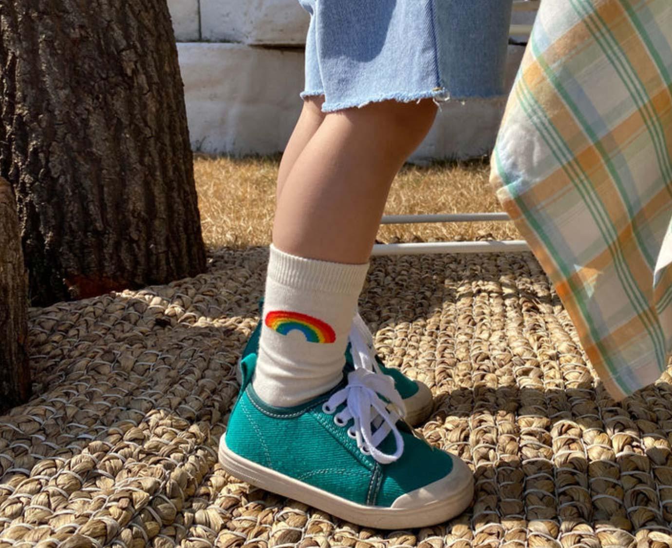 Set sokken 'Check Rainbow'