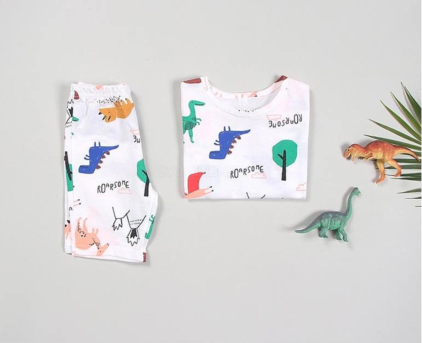 Loungewear  'Dino Ivory'