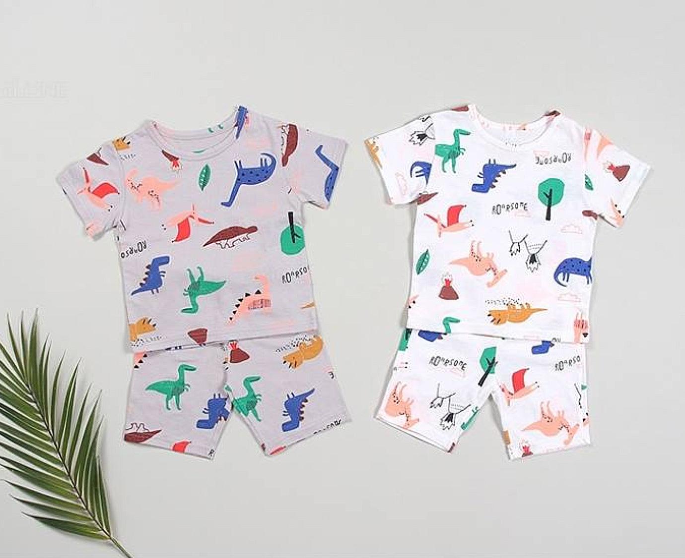Loungewear  'Dino grey'
