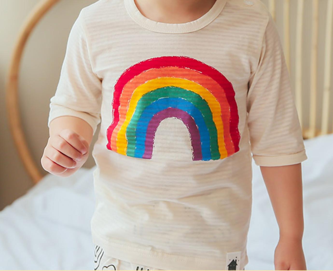 Pyjama 'Rainbow' Maat 86-92