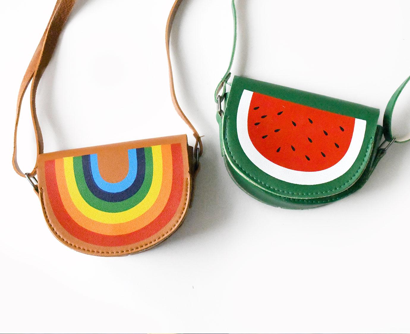 Tasje 'Regenboog of Meloen'