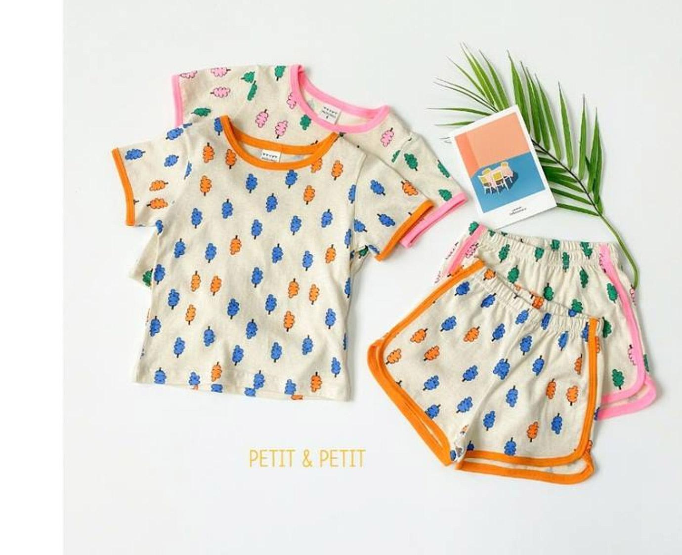 Loungewear 'Leaf Orange'