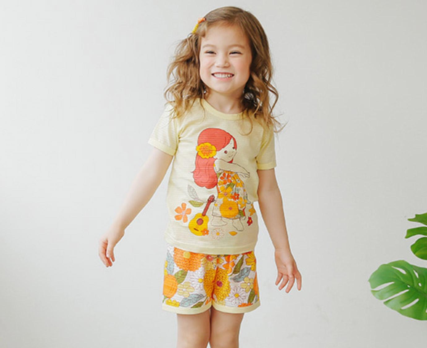 Pyjama 'Hula' kleur