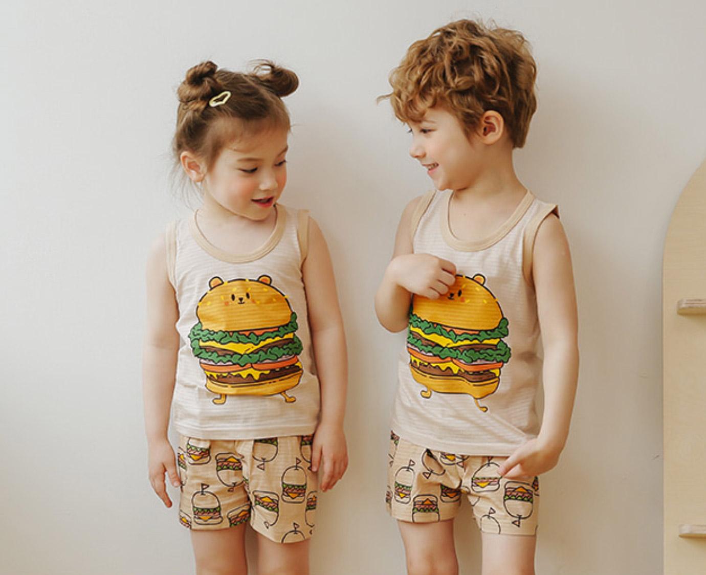 Loungewear  'Burger Bear'