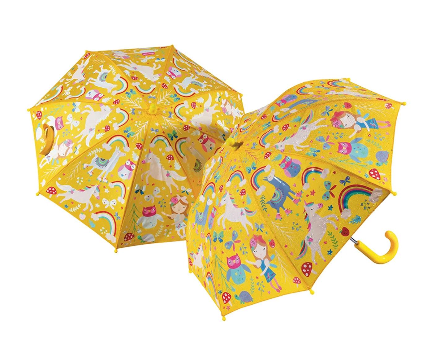 Paraplu 'Rainbow Fairy' kleur