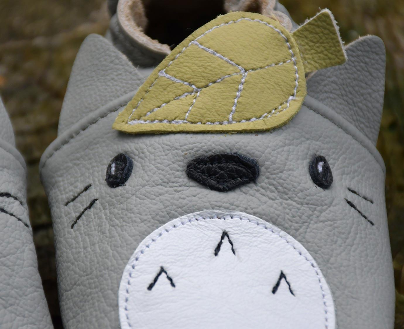 Slofjes 'Totoro'