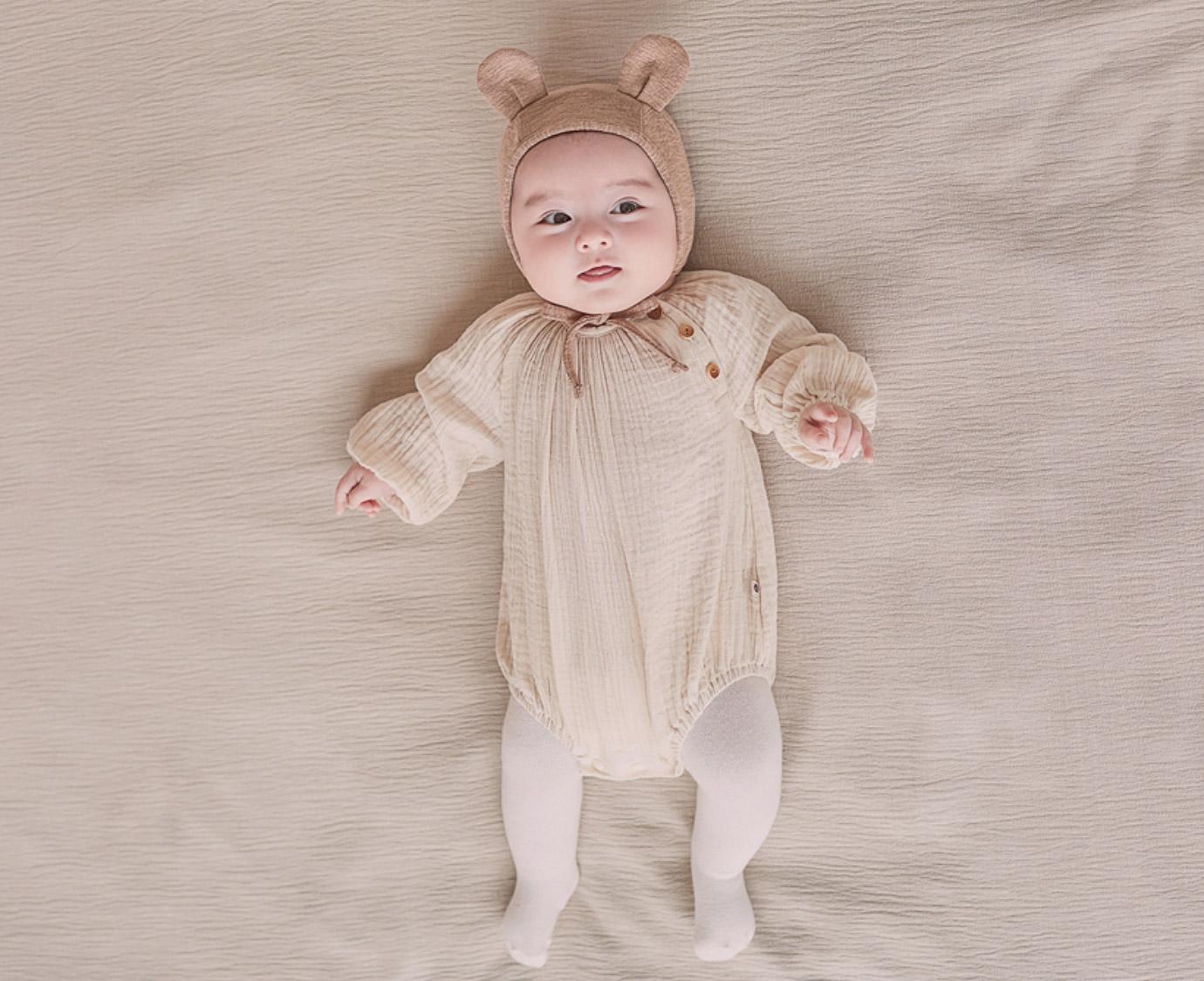 Mutsje 'Bebe bear' bruin