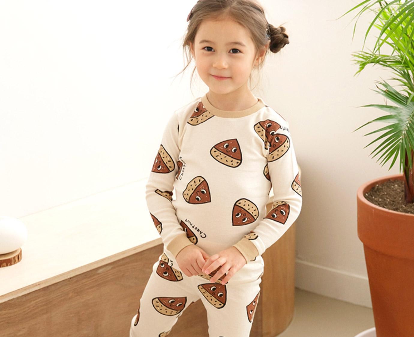 Pyjama 'Chestnut' Organic